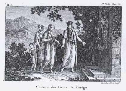 Antoine Laurent Castella - Kythera, Topikes endymasies Ellinon