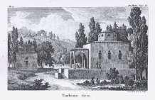 Antoine Laurent Castellan - Monenvasia, Tourkiko nekrotafeio (1797)