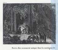 Antoine Laurent Castellan - Navarino, Ereipia arxaiou mnimiou (leptomereia)
