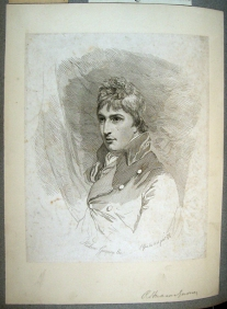 FOSCOLO FRIENDS - Hudson Gurney (1775-1864), by Opie, in his twenties