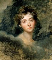 FOSCOLO FRIENDS - Lady Caroline Lamb (1785-1828), by Sir Thomas lawrence (1769-1830)