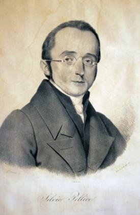 FOSCOLO FRIENDS - Silvio Pellico (1789-1854). litografia Ajello, Museo Nazionale del Risorgimento Italiano di Torino
