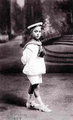 Luis Vallet de Montano - Retrato de niño, Bilbao