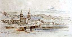 ZANTE. by Edward Lear, April 25, 1848