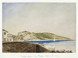 ZANTE . by H. S. Bush, 1851, watercolour