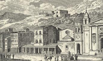 ZANTE - plateia tou Agiou Markou 18os αιώνας