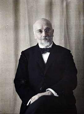 Eleftherios Venizelos (1864-1936). Photo Auguste Léon (1919) - Musée Albert Kahn