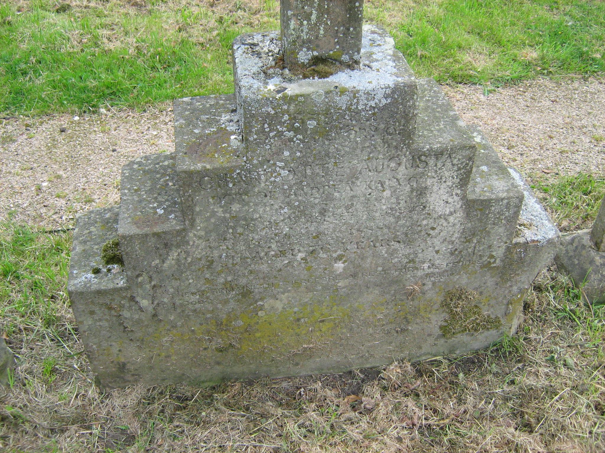 KALVOS - kenotafio epigrafi me ta stoixei thw Charlotte - ph. Zafeiriou IMG_9665