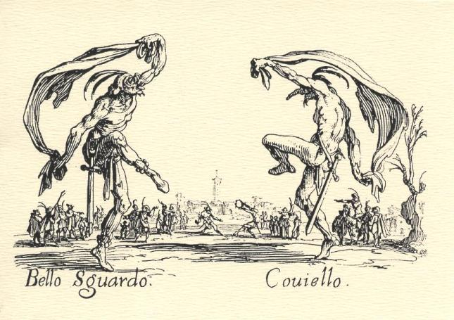 Jacques Callot, Bello Sguardo and Couiello
