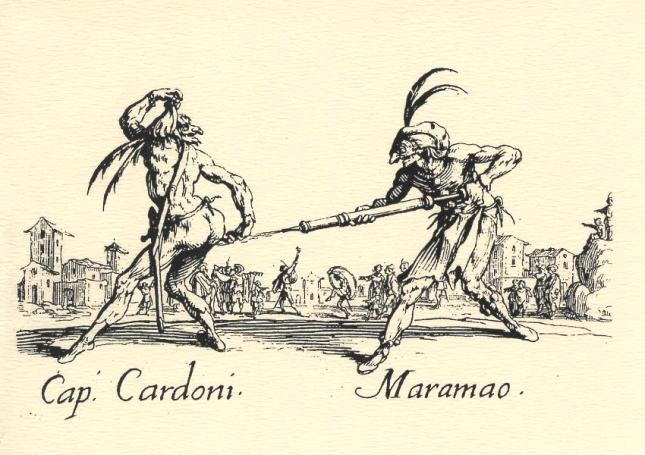 Jacques Callot, Cap. Cardoni and Maramao