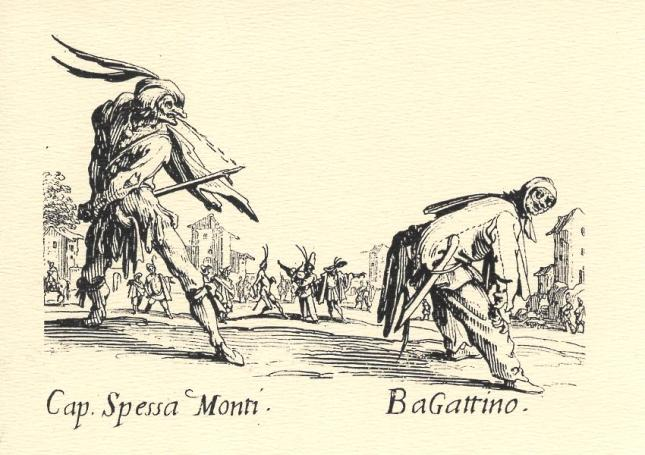 Jacques Callot, Cap. Spessa Monti and BaGattino