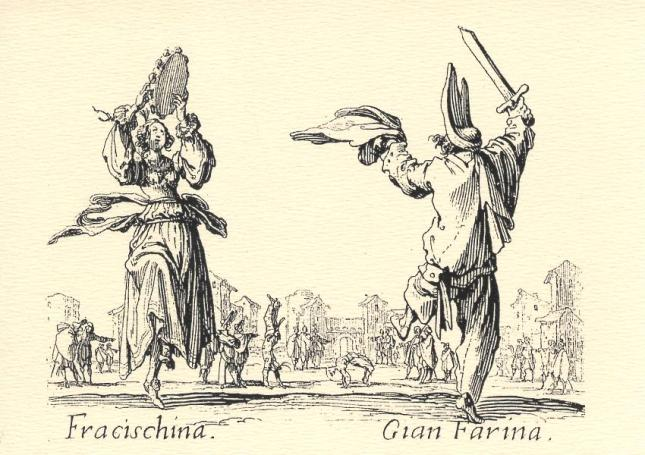 Jacques Callot, Fracischina and Gian Farina