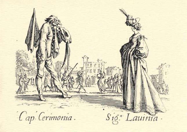 Jacquesw Callot, Cap. Cerimonia and Sig.a. Lauinia