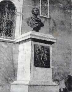 Maitland´s monument in Zante before  II W.W.