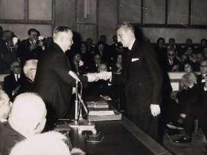 KONOMOS -  Academy of Athens price 24.03.1965