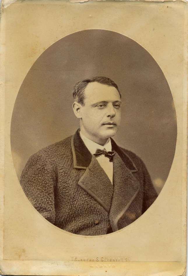 1880. FOTOGRAFOS ESPAÑOLES - Otero, Madrid. Retrato de Caballero, carte de visite,  ca. 1880. Hesperus´ Collection