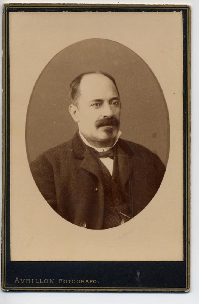 1884. FOTOGRAFOS ESPAÑOLES - Avrillon, Coruña, 22 oct. 1884, Don R. Soto, formato ... Hesperus´ Collection