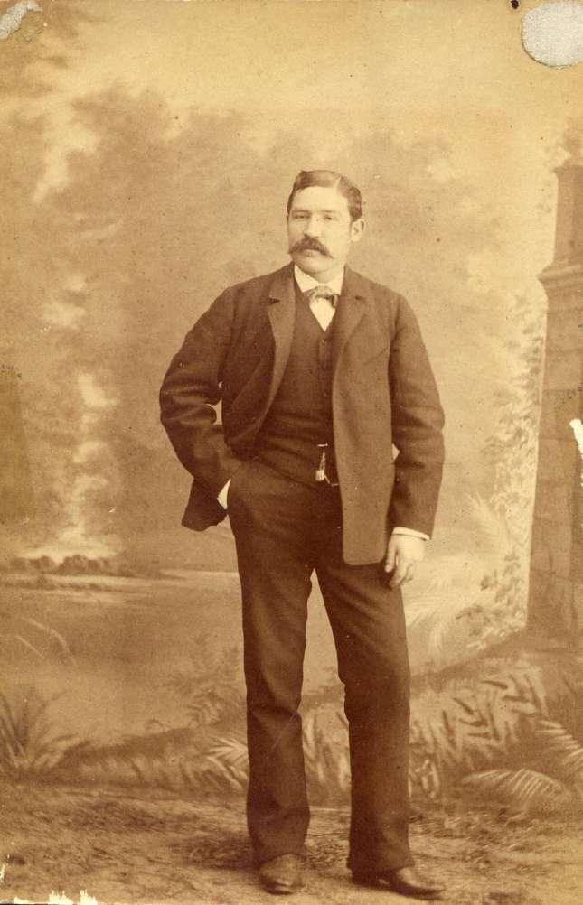 1885. FOTOGRAFOS ESPAÑOLES - Desconocido, Madrid.  Foto de D. Fausto Blanco Sánchez, (1845-1920). ca. 1885. Hesperus´ Collection