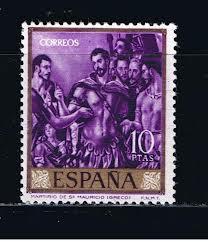 el-greco-en-la-filatelia-esp-1961
