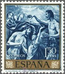 el-greco-en-la-filatelia-espana-1961