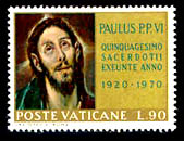 el-greco-en-la-filatelia-poste-vaticane-1970