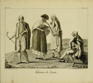 ZANTE - habitans de Zante from voyagehistorique04gras_0059