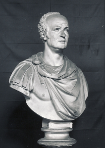 Maitland Thomas bust, Zante , by Bertel Thorvaldsent,(copy)