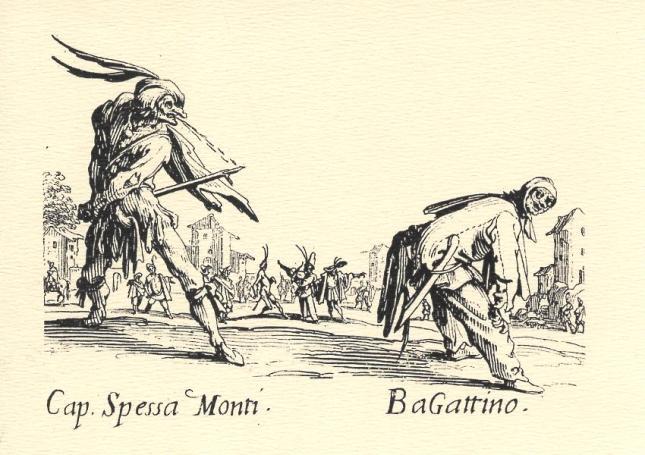 Jacques Callot, Cap. Spessa Monti and BaGattino