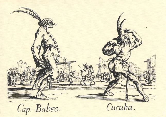 Jacques Callot, Capitano Babeo and Cucuba