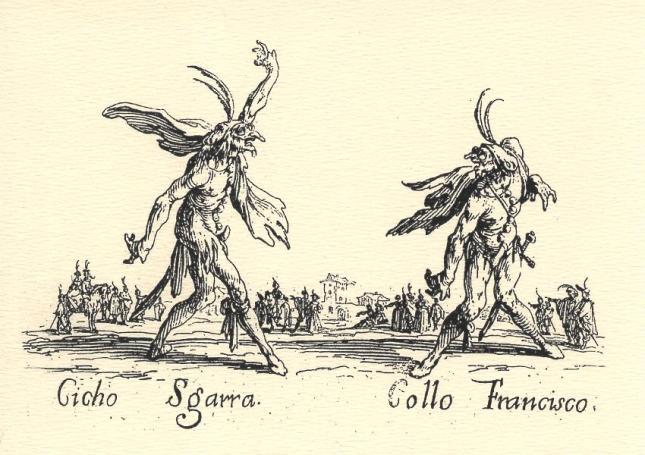 Jacques Callot, Cicho Sgarra and Collo Francisco