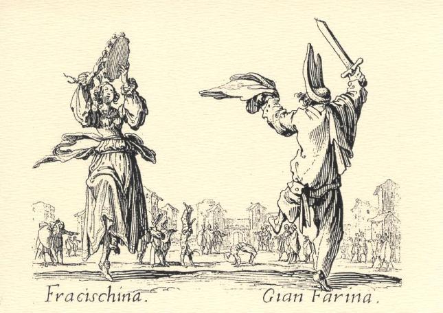 Jacques Callot, Fracischina and Gian Farina