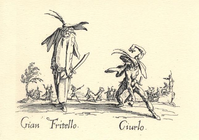 Jacques Callot, Gian Fritello and Ciurlo