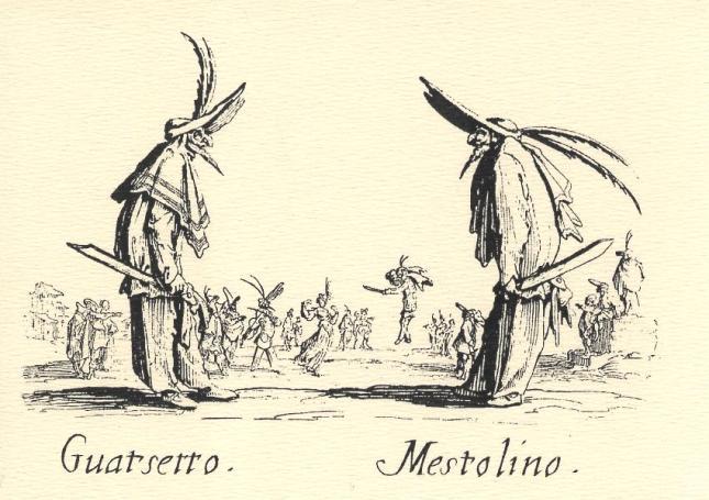 Jacques Callot, Guatsetto and Mestolino
