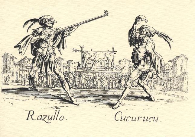 Jacques Callot, Razullo and Cucurucu